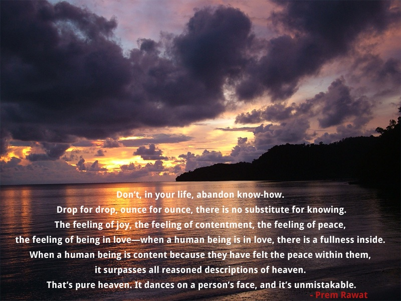 clouds,sky,Prem Rawat,quote
