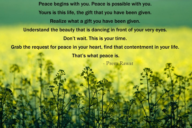green herbs,Prem Rawat,quote
