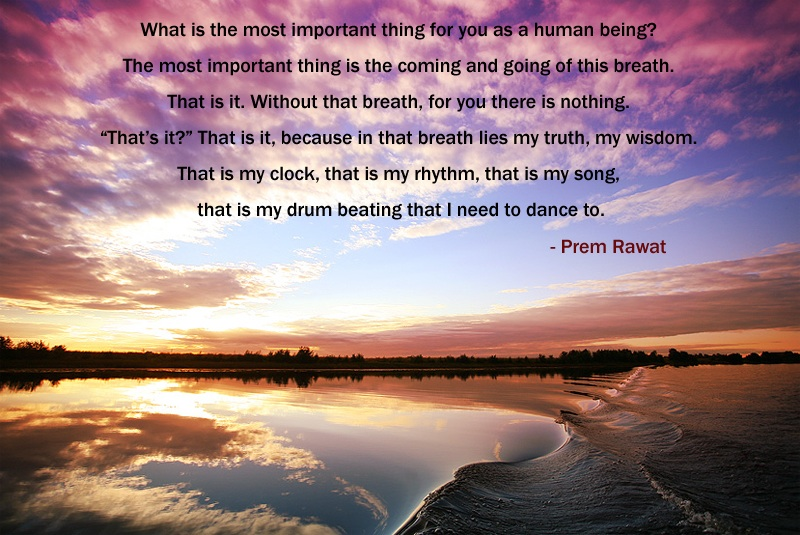 water,Prem Rawat,quote