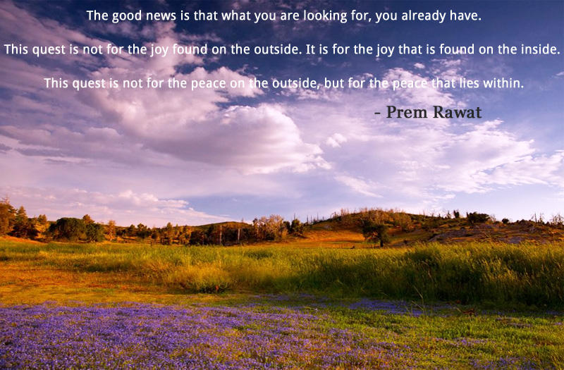 sky cloud,Prem Rawat,quote