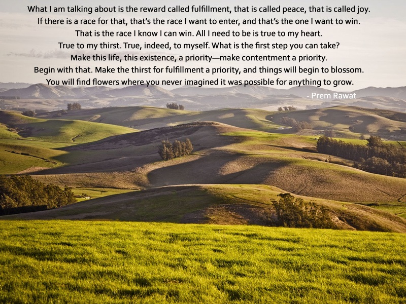 mountain range,Prem Rawat,quote