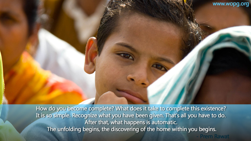boy,listening,Prem Rawat,quote