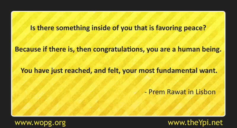 yellow abstract,Prem Rawat,quote