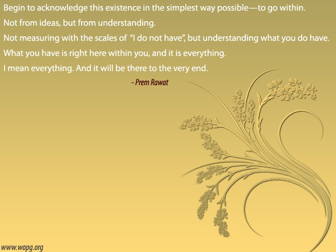 abstract design,Prem Rawat,quote