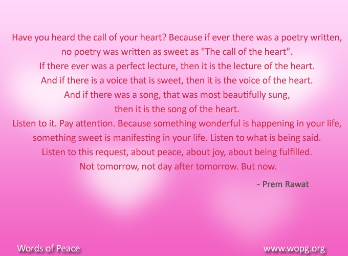 pink abstract,Prem Rawat,quote