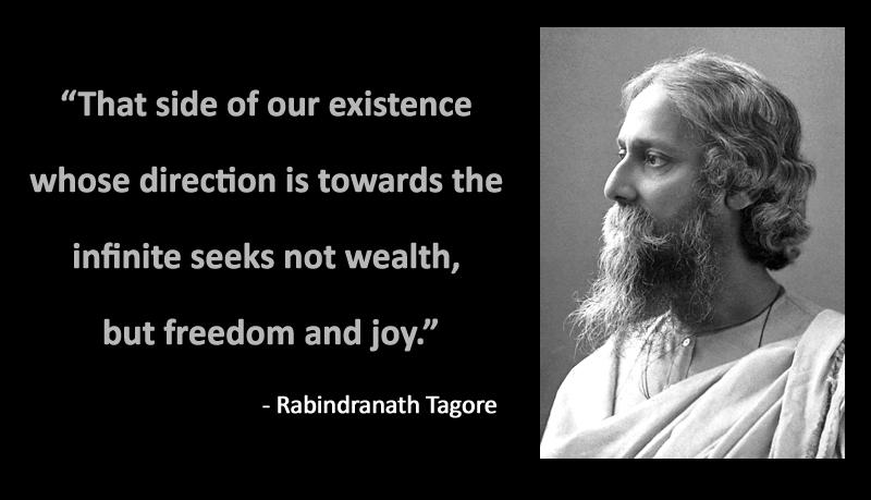 portrait,Rabindranath Tagore,quote