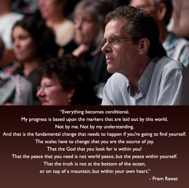 man,glasses,audience,Prem Rawat,quote