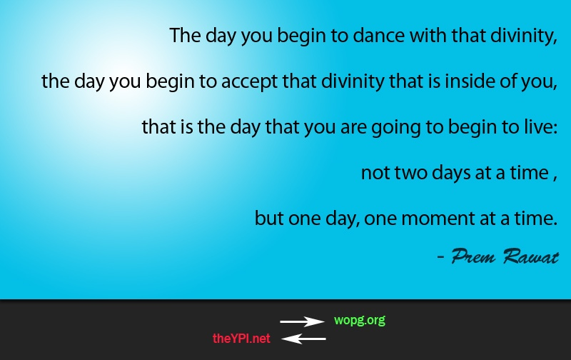 blue abstract sky,Prem Rawat,quote
