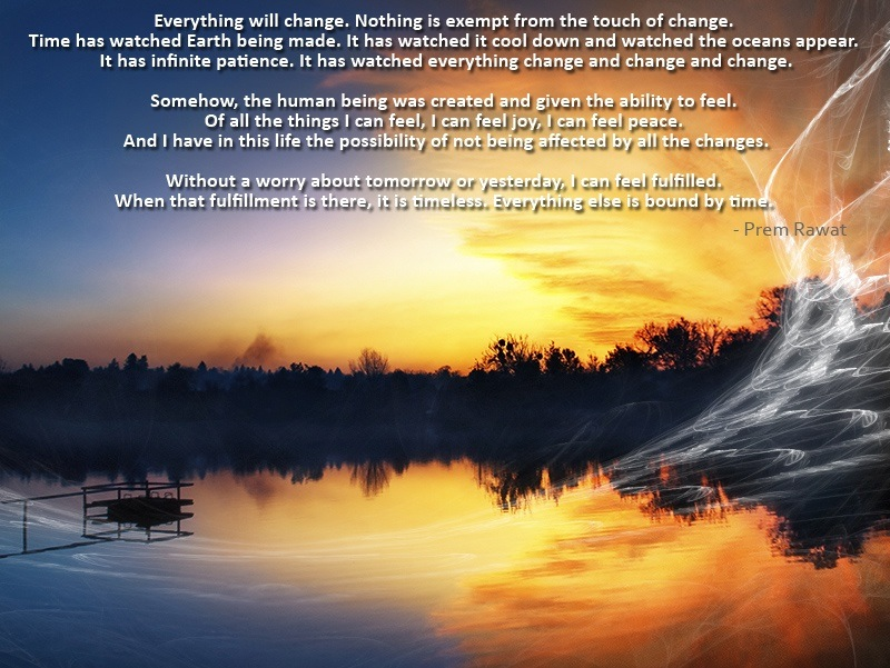 sunset,landscape,Prem Rawat,quote