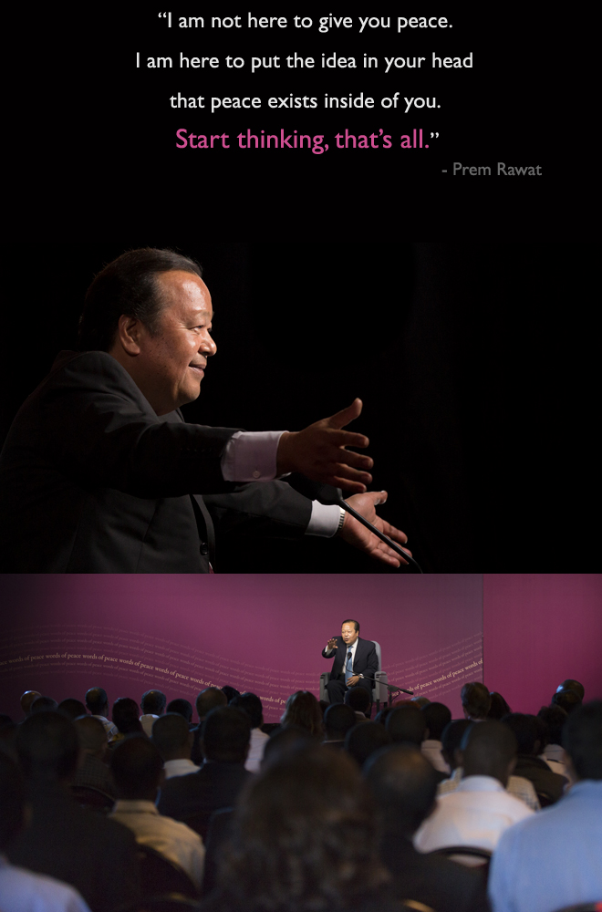 event,auditorium,hall,Prem Rawat,quote