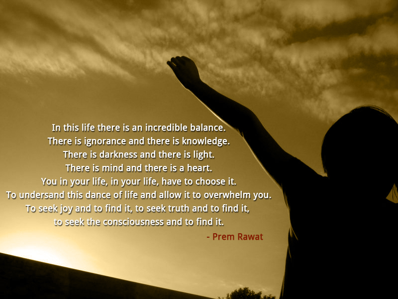evening,joy,Prem Rawat,quote