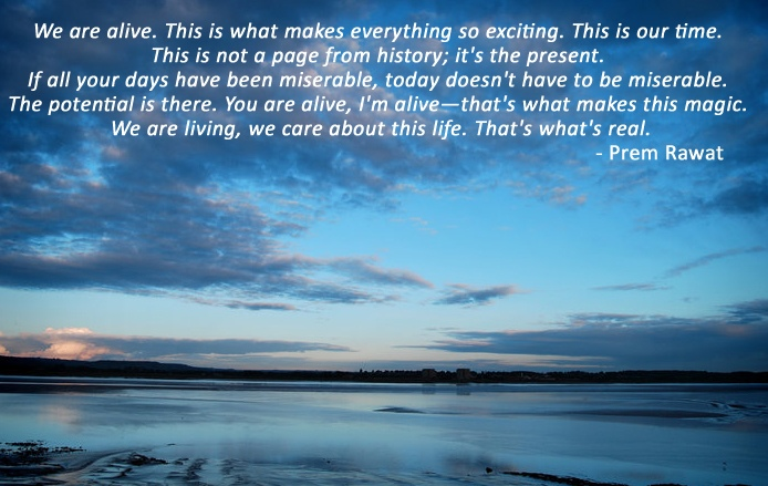 sky blue,Prem Rawat,quote
