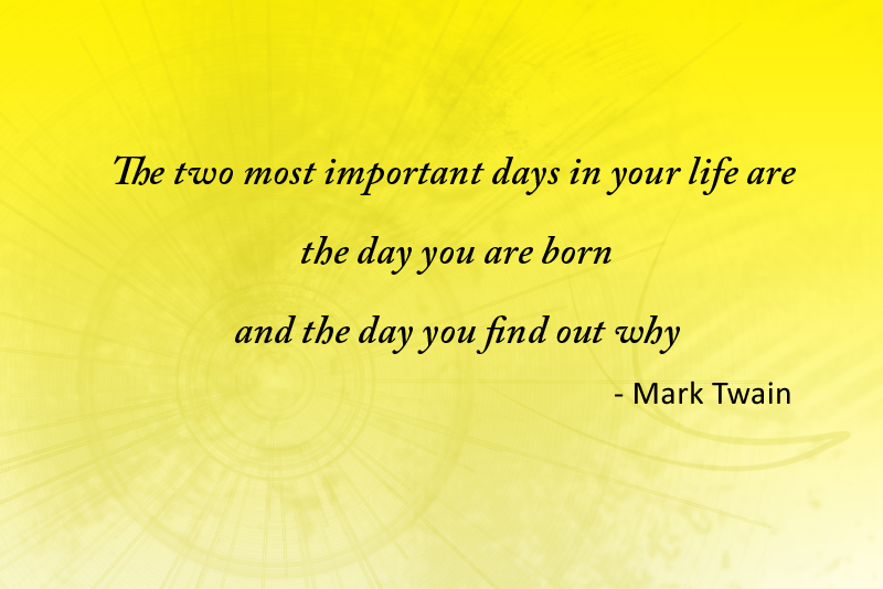 yellow abstract,Mark Twain,quote