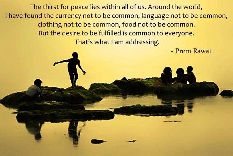 island kids, serene,Prem Rawat,quote