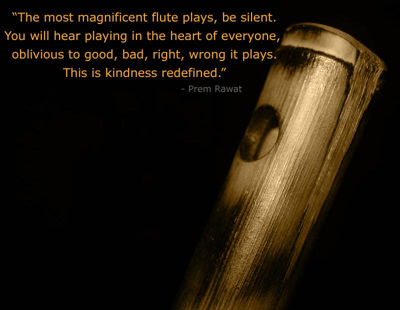 flute,Prem Rawat,quote