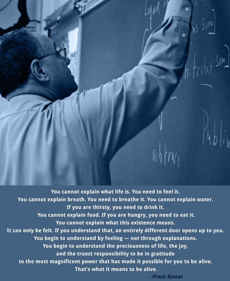blackboard, chalk,teacher,Prem Rawat,quote