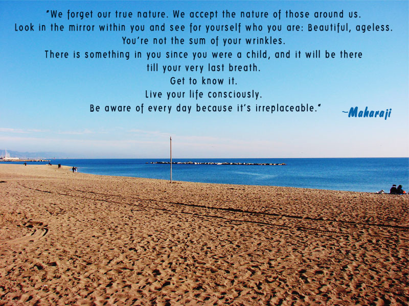 sand,beach,Prem Rawat,quote