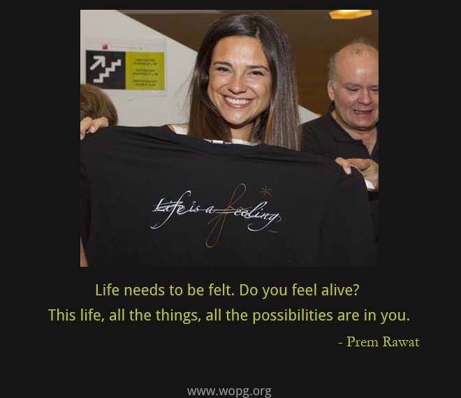 smiling girl,Prem Rawat,quote