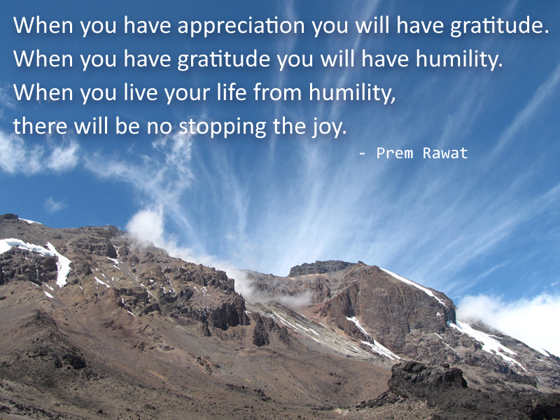 blue sky,Prem Rawat,quote