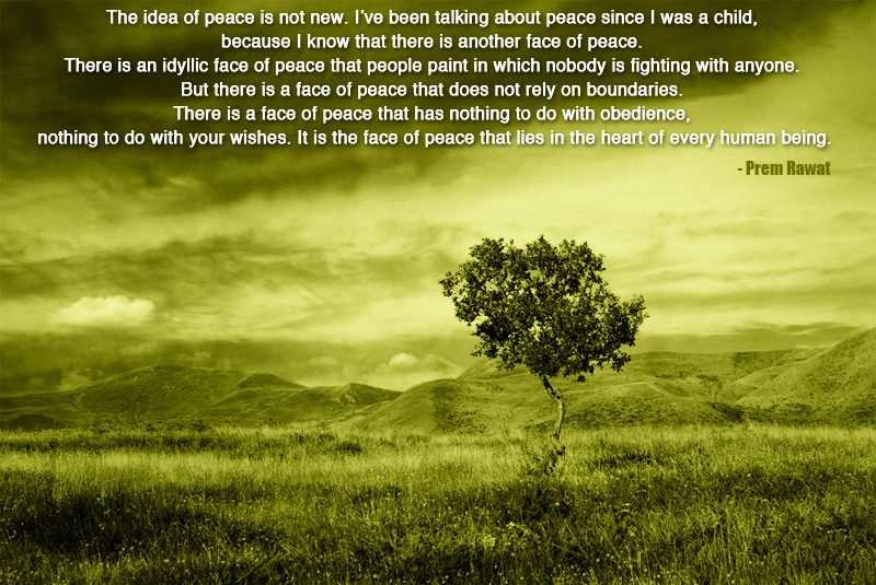 dramatic sky,Prem Rawat,quote