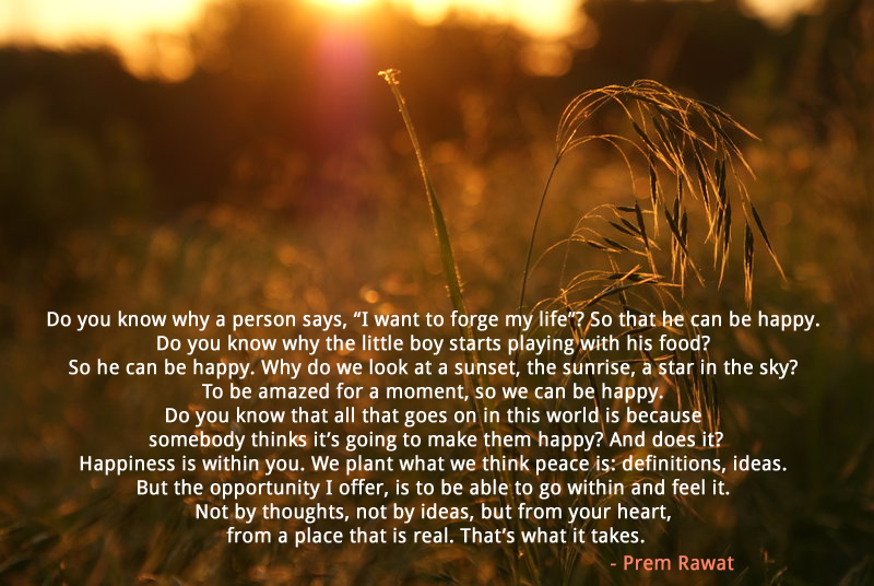 field,Prem Rawat,quote