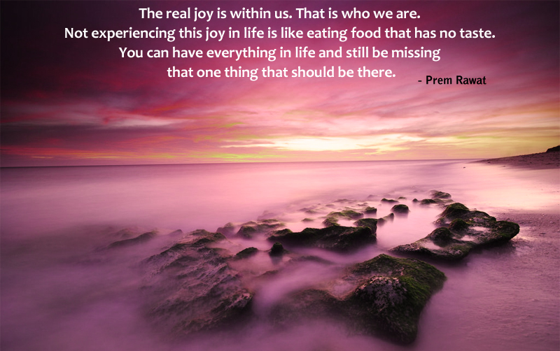 water,fog,rocks,Prem Rawat,quote