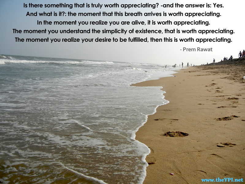 sea beach,wave,Prem Rawat,quote