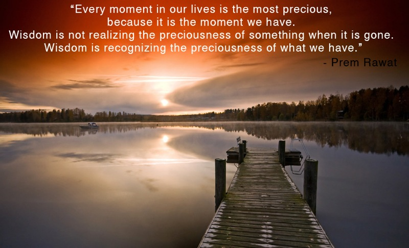 serene,water,sunset,Prem Rawat,quote