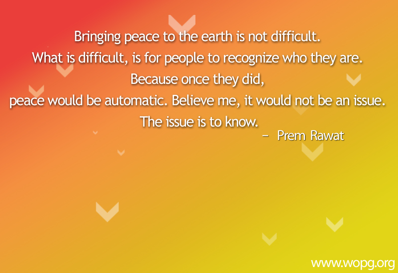 abstract arrow,Prem Rawat,quote