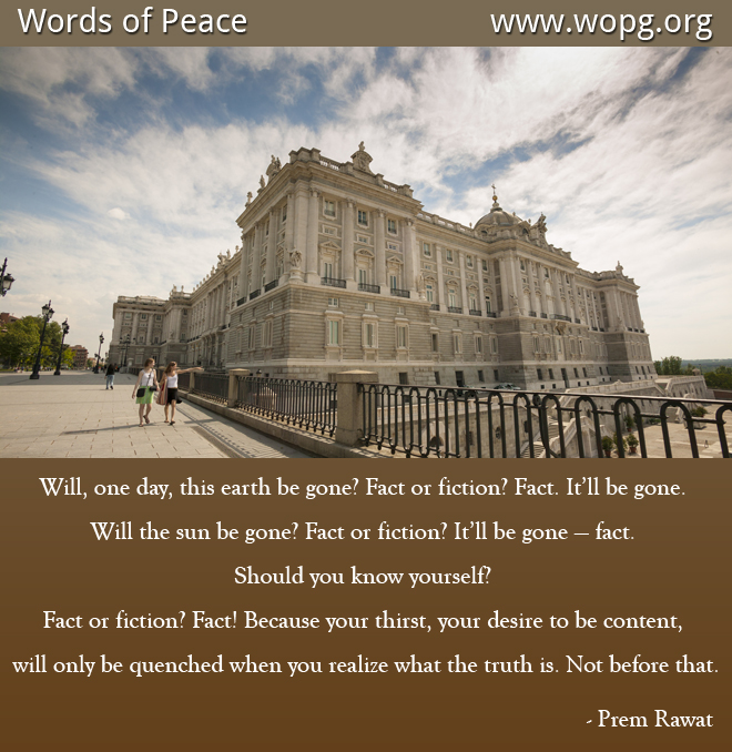 fort,monument,historical,Prem Rawat,quote