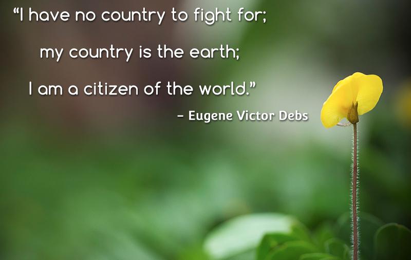 tulip,flower,Eugene Victor Debs,quote