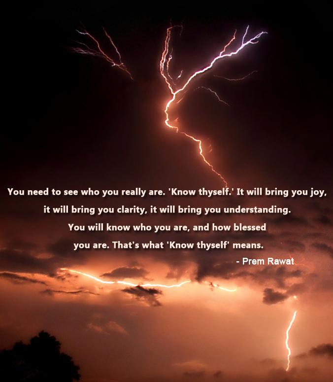 lightening,thunder,Prem Rawat at Barcelona, Spain - 2010,quote