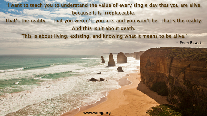 beach waves,Prem Rawat at Melbourne, Australia - 2012,quote