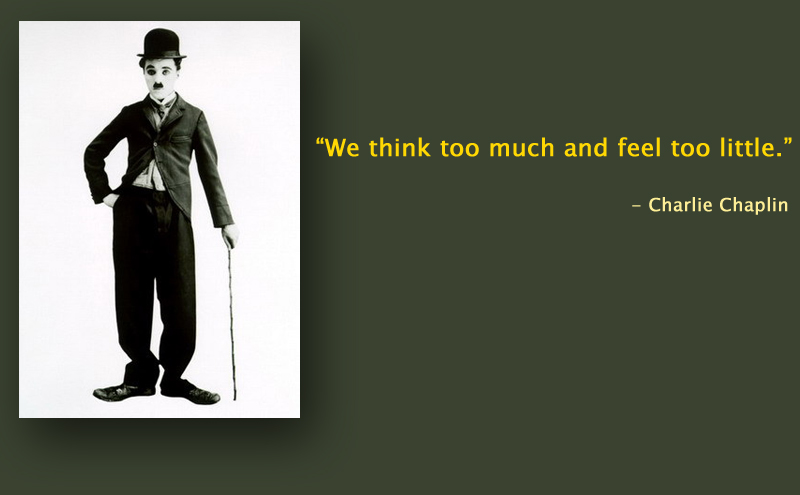 portrait,b&w,Charlie Chaplin,quote
