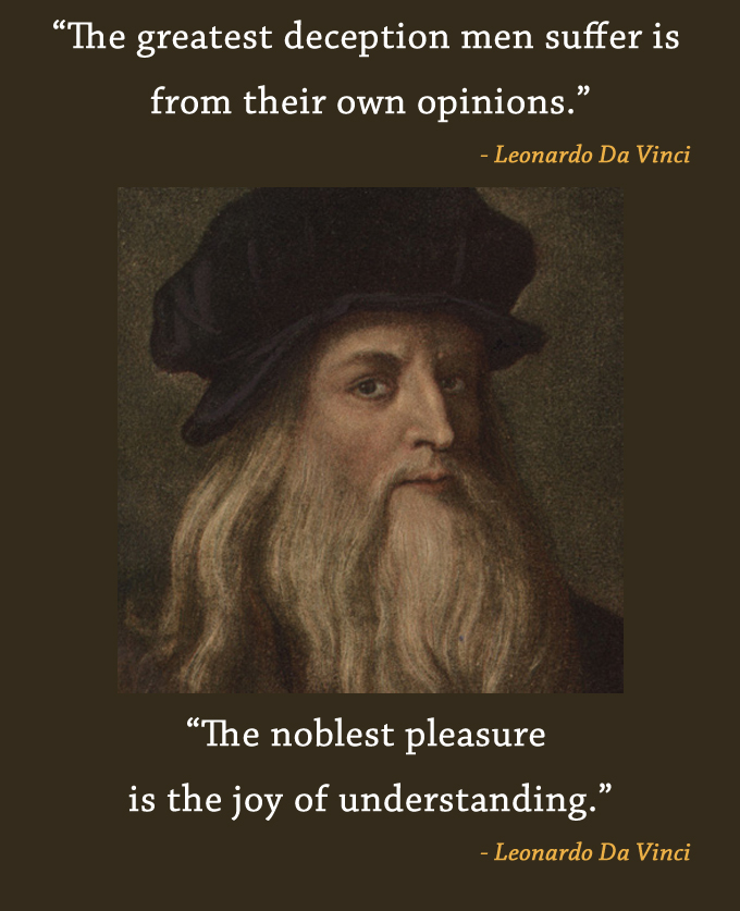 beard,old,Leonardo Da Vinci,quote