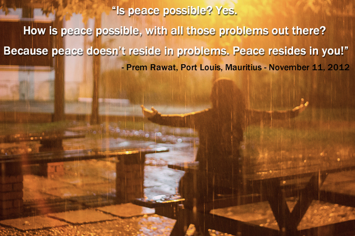 rain,girl,Prem Rawat, Port Louis, Mauritius - November 11, 2012,quote