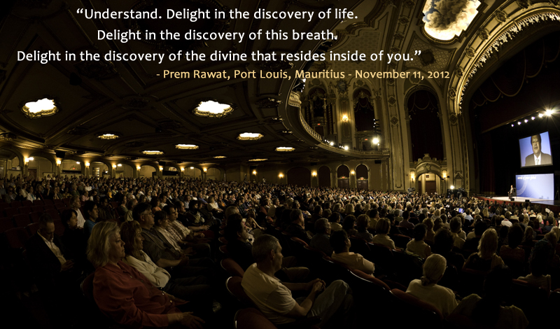 hall,auditorium,Prem Rawat, Port Louis, Mauritius - November 11, 2012,quote