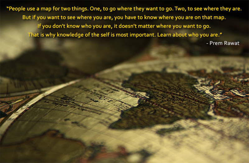 map,globe,Prem Rawat,quote