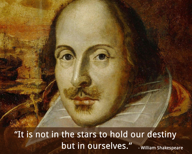 portrait,caricature,William Shakespeare,quote