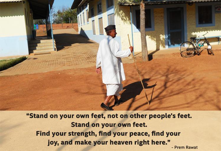 indian walking,Prem Rawat,quote