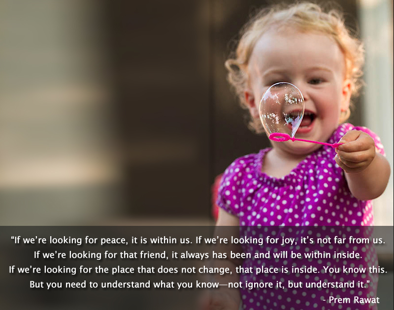 laughing,child,Prem Rawat,quote