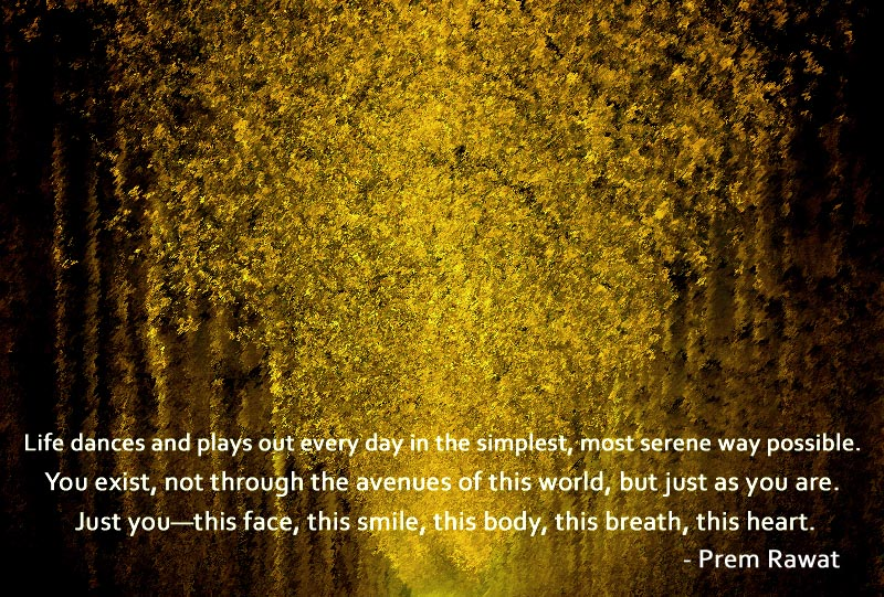 trees,Prem Rawat,quote