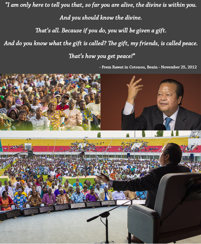 amaroo event,Prem Rawat,quote