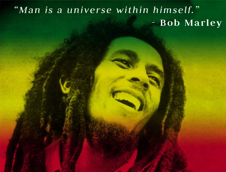 portrait,Bob Marley,quote