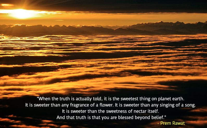 sunset,Prem Rawat in Montreal, Canada, Aug 29, 2010,quote