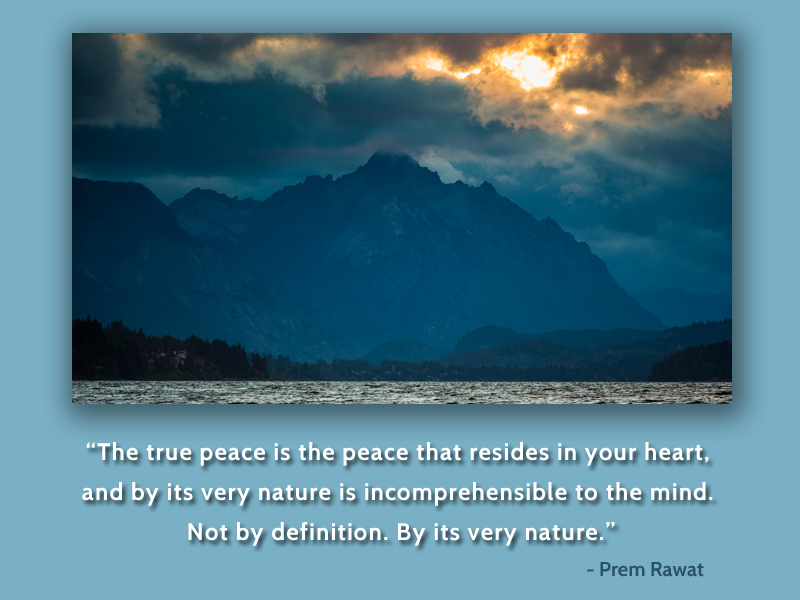river,mountain,sky,Prem Rawat,quote