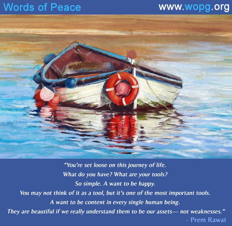 boat,painting,oil,Prem Rawat,quote