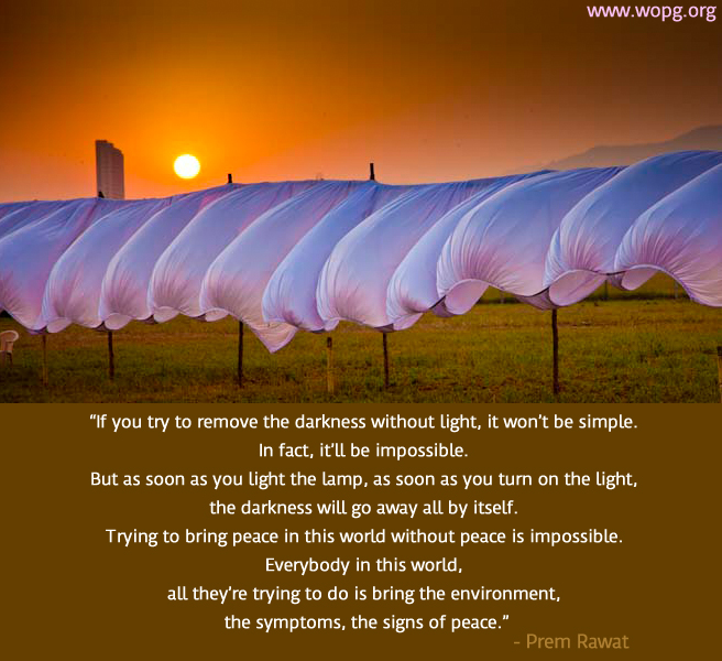 wind,tent,sunset,Prem Rawat,quote