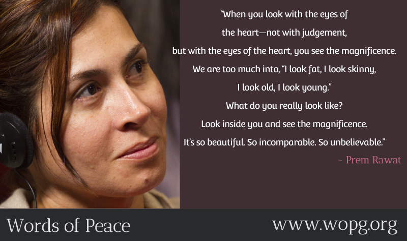 lady,girl,listening,Prem Rawat,quote
