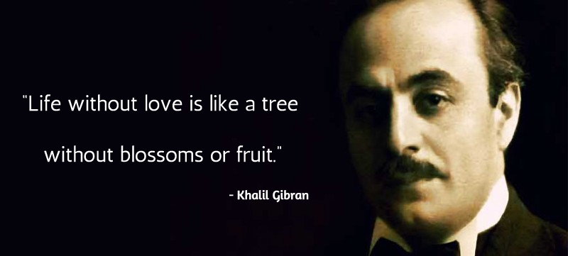moustache,portrait,Khalil Gibran,quote